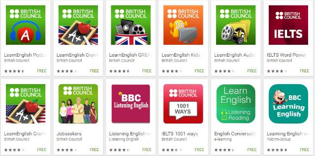 mobile app to learn english
