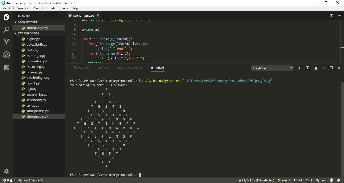 charcter-rhombus-in-python
