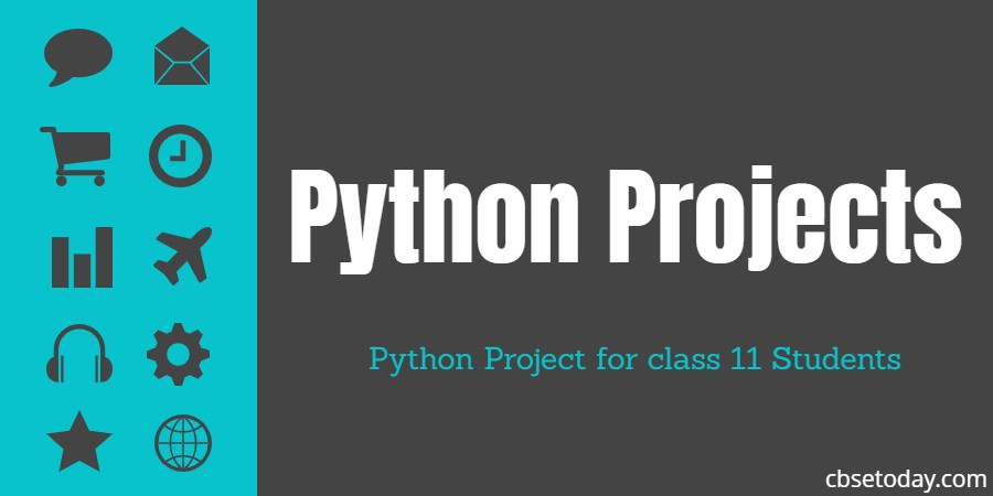 Python Project for class 11 student