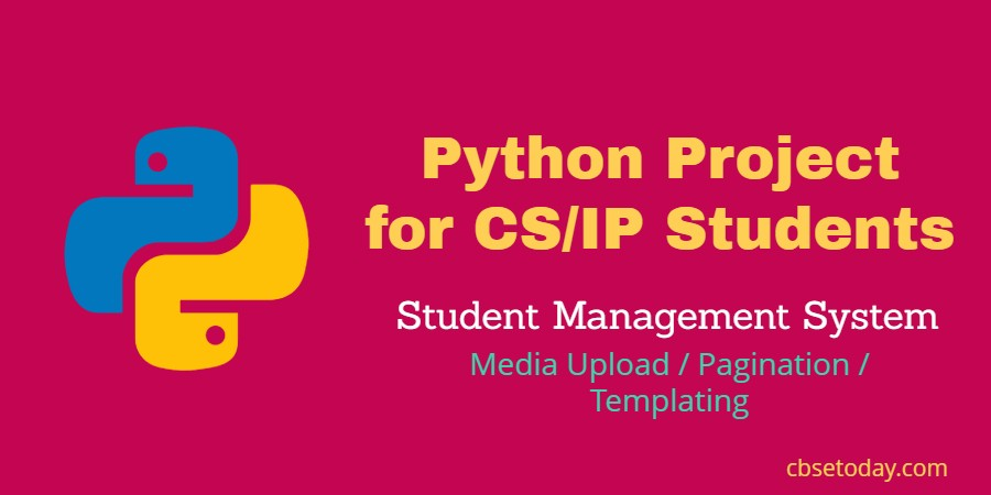 python project for cs IP students