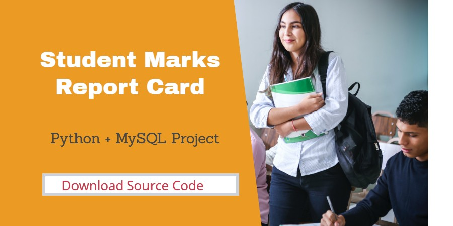 student report card Python Project