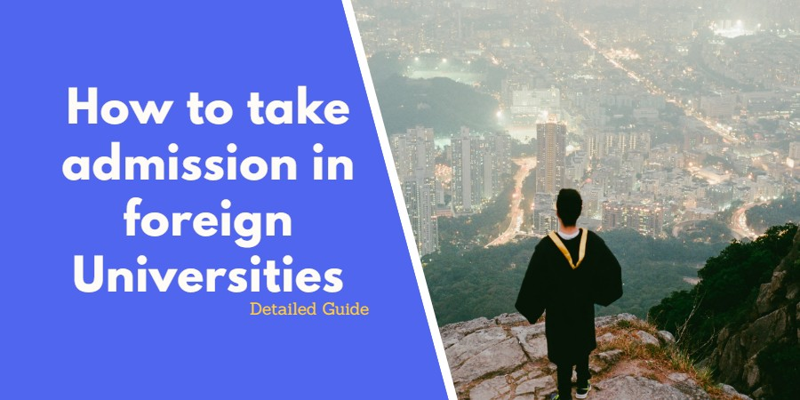 take admission in foreign universities